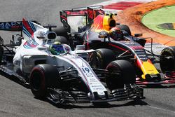 Felipe Massa, Williams FW40, Max Verstappen, Red Bull Racing RB13