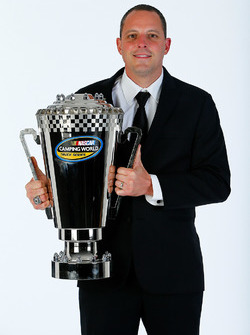 2016 Truck Series champion Johnny Sauter, GMS Racing Chevrolet