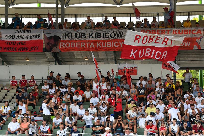 Robert Kubica fanları, Renault Sport F1 Team