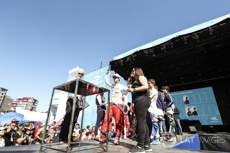 Lucas di Grassi, ABT Schaeffler Audi Sport, en la loteria de la calificación