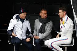 Jens Marquardt, BMW Motorsport Director, Markus Othmer and Marco Wittmann, BMW Team RMG