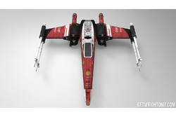 Star Wars X-Wing with Ferrari livery