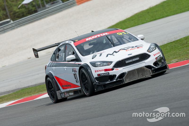 #91 Marc Cars Australia MARC, Focus V8, Keith Kassulke, Hadrian Morrall, Nicholas Rowe