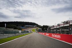 Circuit de Spa-Francorchamps: Blick in Richtung Eau Rouge