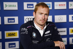 Persconferentie: Maxime Martin, BMW Team RBM, BMW M4 DTM