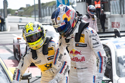Race winner Timo Glock, BMW Team RMG, BMW M4 DTM, second place Marco Wittmann, BMW Team RMG, BMW M4 DTM