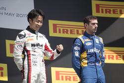 Подиум: победитель Нобухару Мацушита, ART Grand Prix, третье место – Николя Латифи, DAMS
