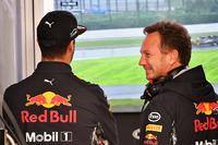 Daniel Ricciardo, Red Bull Racing and Christian Horner, Red Bull Racing Team Principal