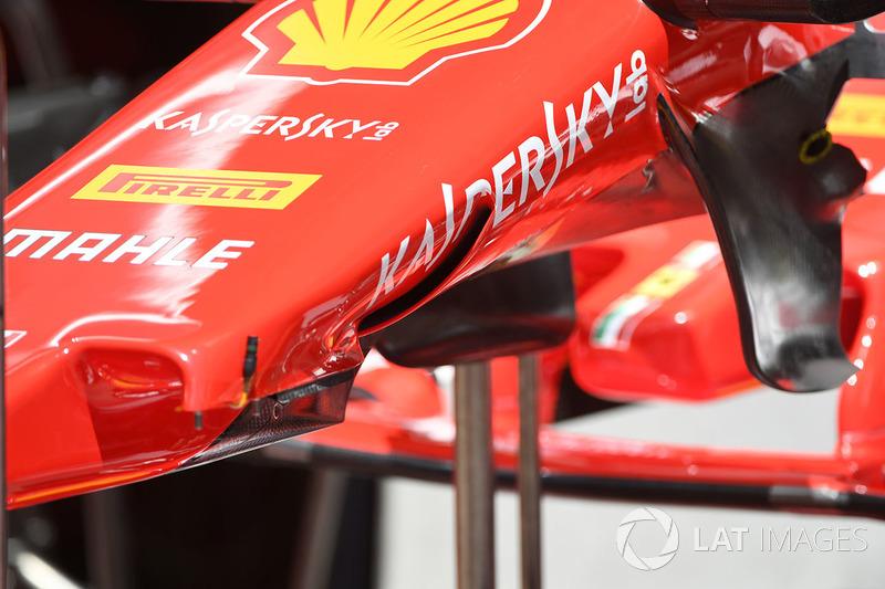 Ferrari SF70H S-kanal detayı