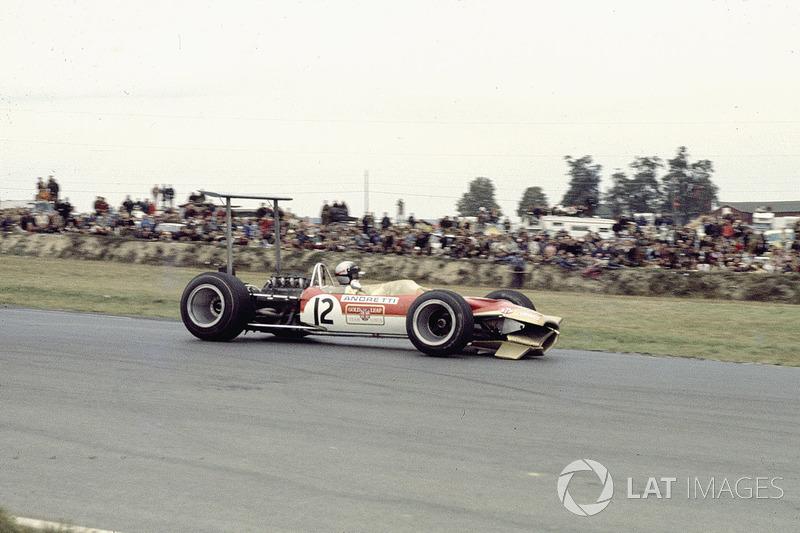 #7: Mario Andretti, Lotus 49B, Watkins Glen 1968: 1:04,200