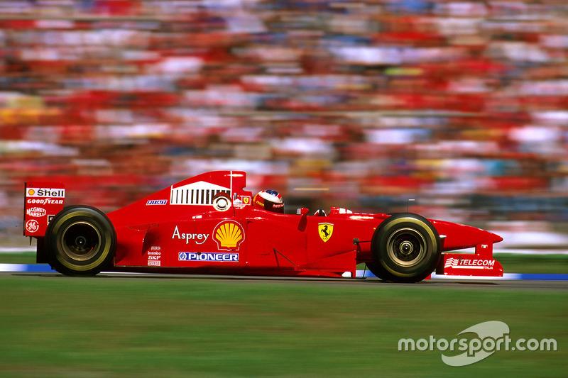 1997: Ferrari F310B (пять побед, 2-е место в КК)
