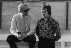 Засновник Lotus Колін Чепмен і власник Brabham Берні Екклстоун