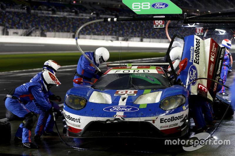 Pitstop, #68 Ford Performance Chip Ganassi Racing Ford GT: Billy Johnson, Stefan Mücke, Olivier Pla