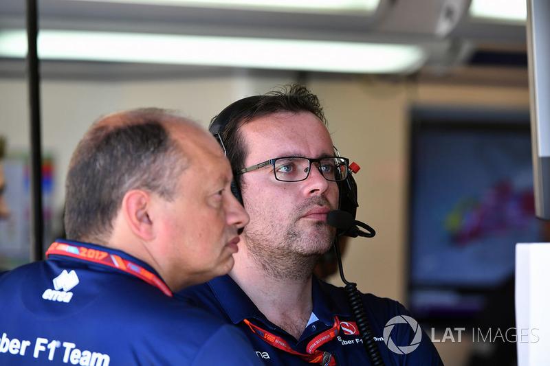 Frederic Vasseur, director de Sauber Team