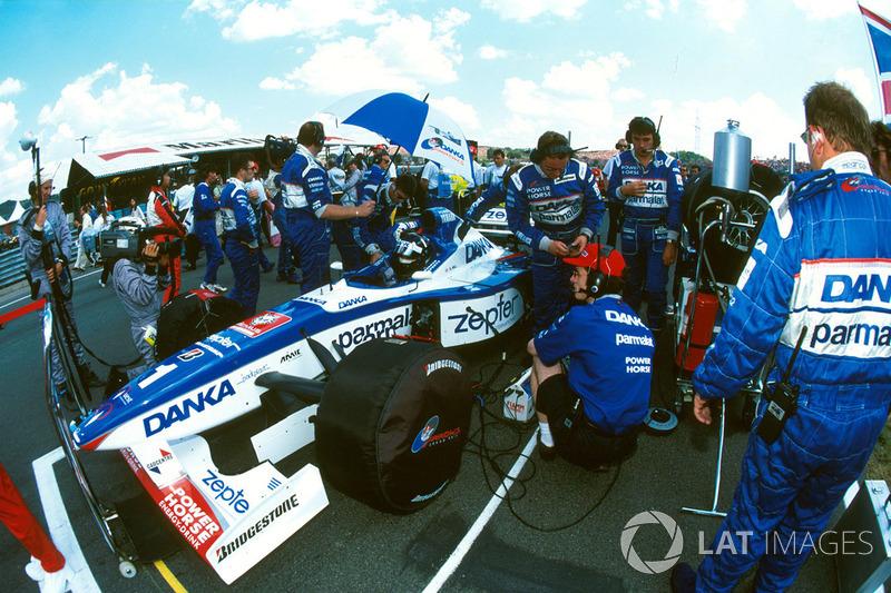 Damon Hill, Arrows Yamaha A18