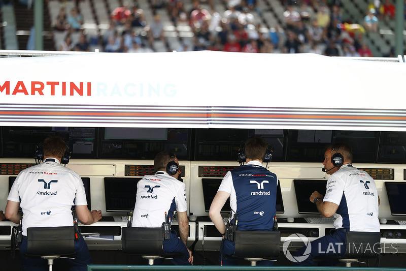 El equipo Williams