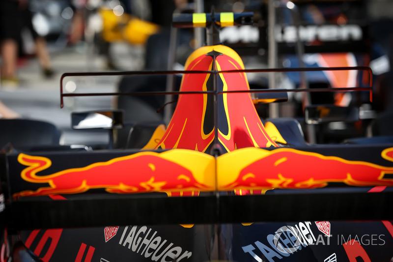 Red Bull Racing RB13 Detalle de la carrocería