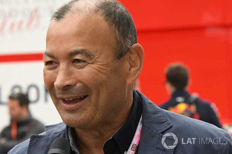 Eddie Jones, England Rugby Coach