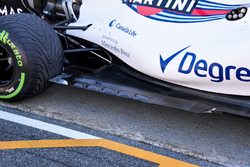 Williams FW40, detalle lateral