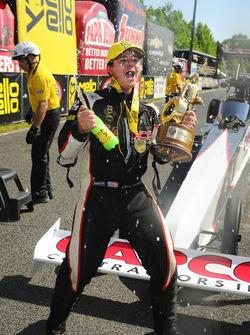 Top Fuel winner Steve Torrence