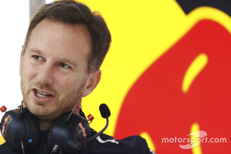 Christian Horner, jefe de equipo de Red Bull Racing