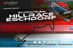European Hill Race Eschdorf, theaterplakat