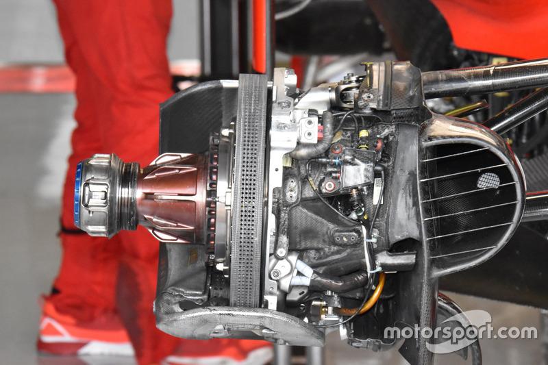 Ferrari SF70h, brake detail