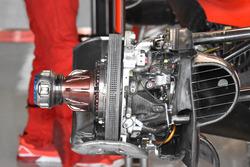 Ferrari SF70h, dettaglio del freno