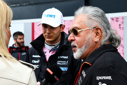 Esteban Ocon, Sahara Force India, Dr. Vijay Mallya, Sahara Force India Formula One Team Owner