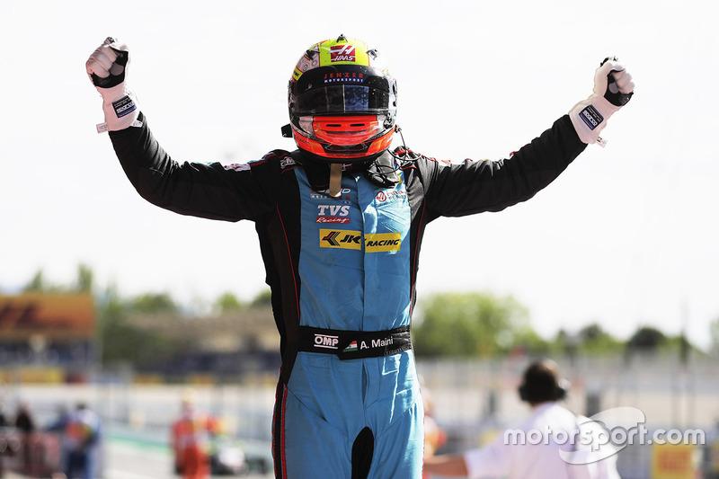 Race winner Arjun Maini, Jenzer Motorsport