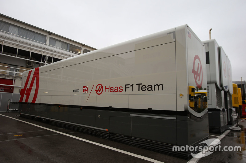 Грузовики Haas F1