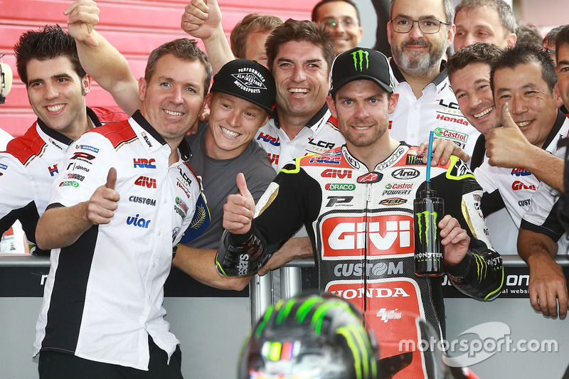 Third place Cal Crutchlow, Team LCR Honda