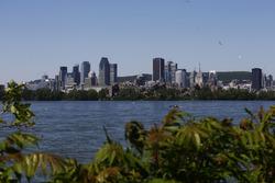 Вид на Монреаль