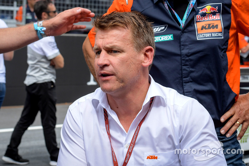 Піт Байєр, керівник заводського гоночного підрозділу KTM