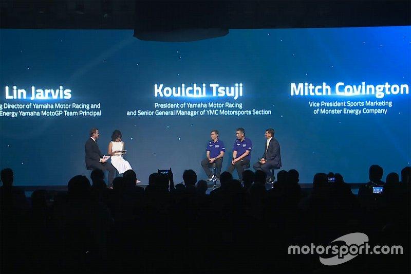 Презентація Yamaha Factory Racing