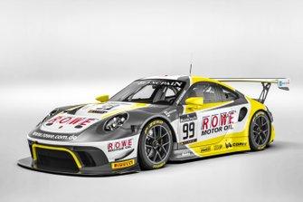 Decoración Rowe Racing