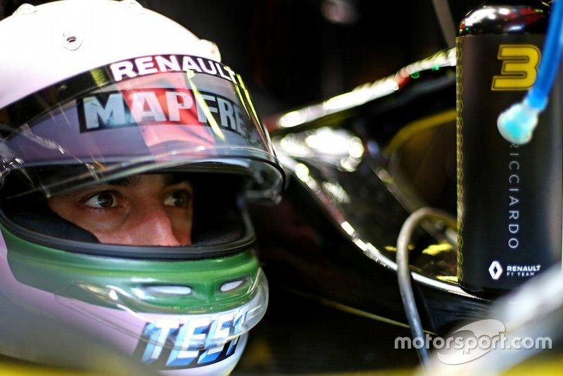 Helm Daniel Ricciardo, Renault F1 Team