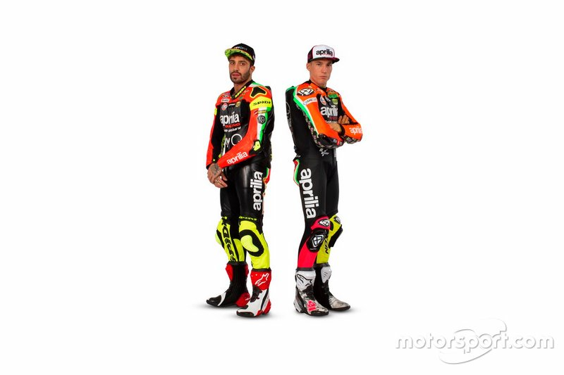 Андреа Янноне, Алейш Еспаргаро, Aprilia Racing Team Gresini