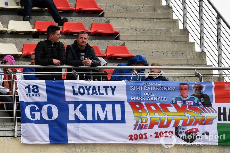 Kimi Raikkonen, Alfa Romeo Racing fans