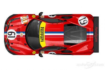 Decoración #61 Luzich Racing