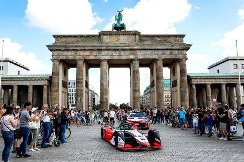 Audi drive through Berlin