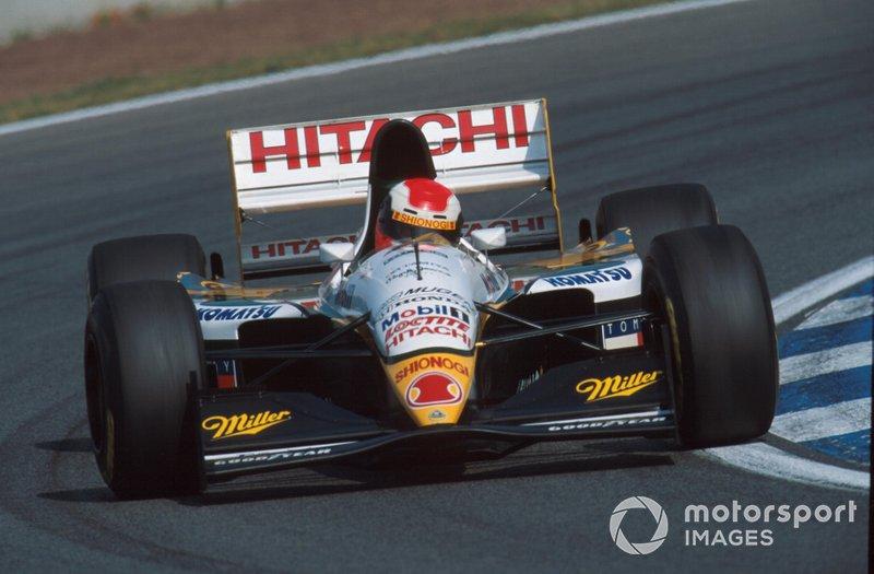 Johnny Herbert, Lotus 109 Mugen-Honda