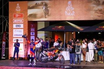 Подіум: Red Bull KTM Factory Racing KTM: Сем Сандерленд