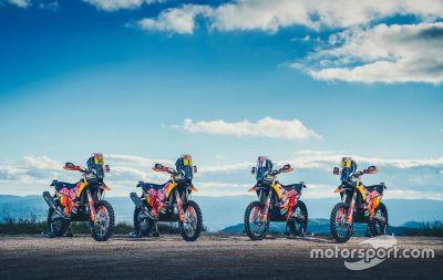 Presentación del KTM Racing