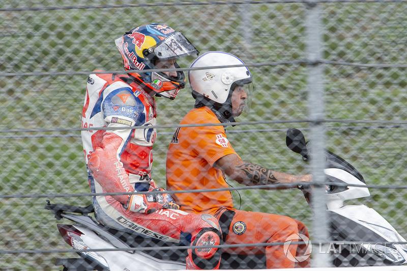 Jack Miller, Pramac Racing after crash