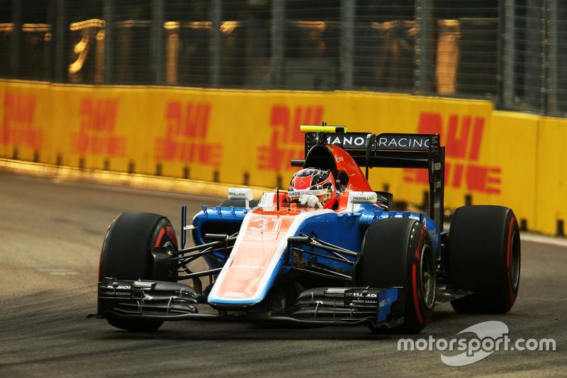 21º: Esteban Ocon, Manor Racing MRT05