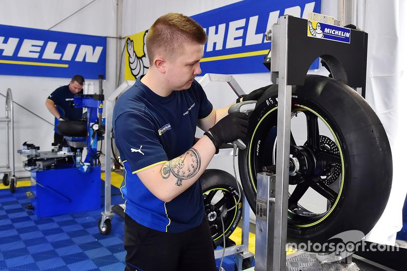 Pneus de tests Michelin MotoGP