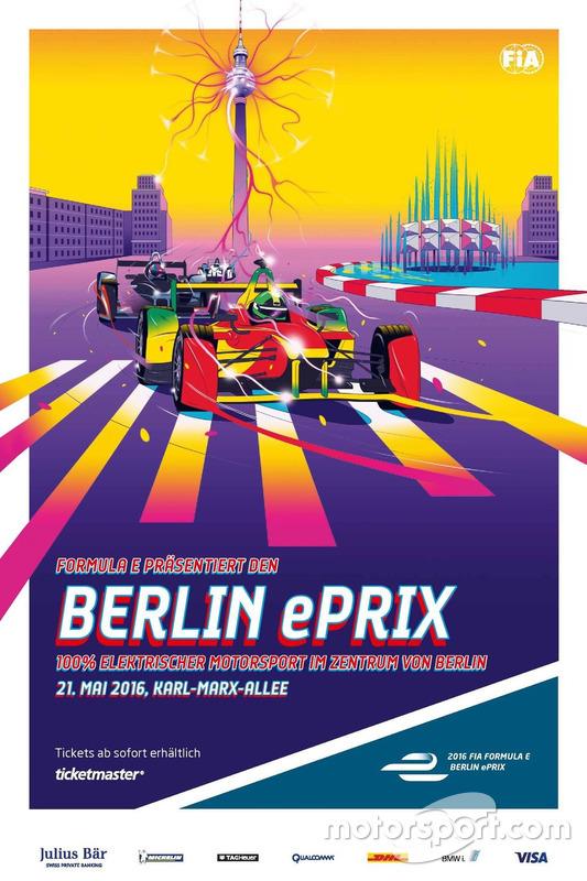 ePrix di Berlino, poster