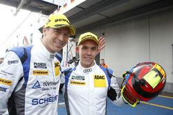 Sieger #5 Phoenix Racing, Audi R8 LMS: Frank Stippler, Anders Fjordbach