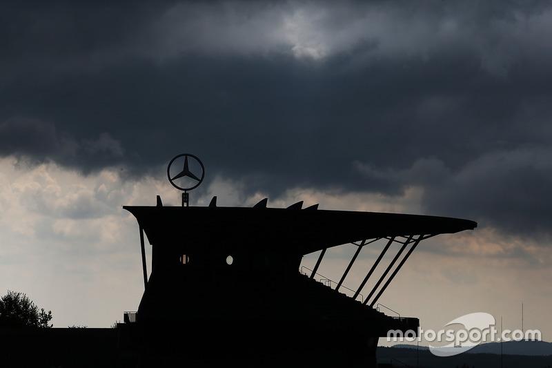 A grandstand